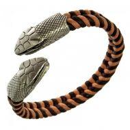 Браслет с головой змеи BICO CA28BR