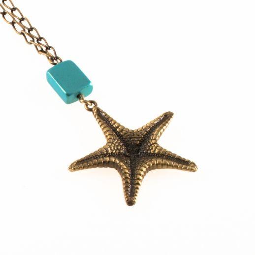 Кулон морская звезда BEACHLEY L40AB