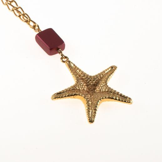 Кулон морская звезда BEACHLEY L40AG