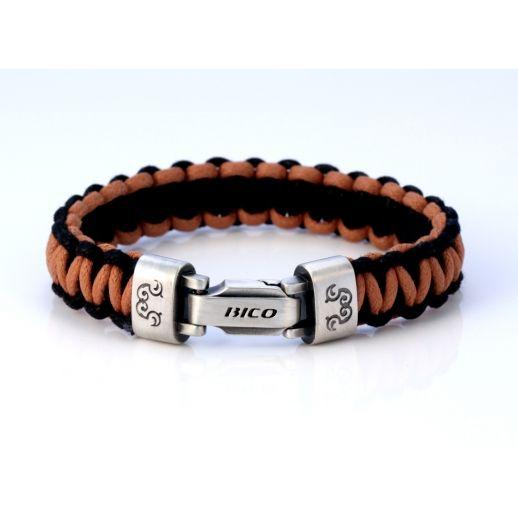 Плетеный браслет BICO CA40BRBLK