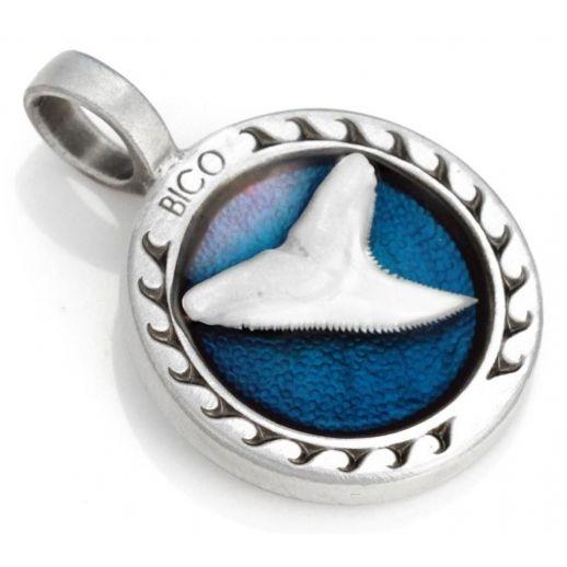 Подвеска с эмалью зуб акулы BICO B113LB