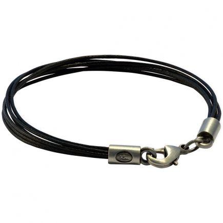 Браслет из кожаных шнуров FB430BLK