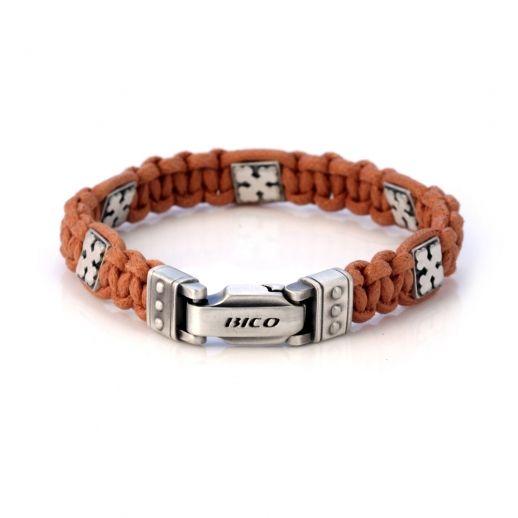 Плетеный браслет BICO CA25BR