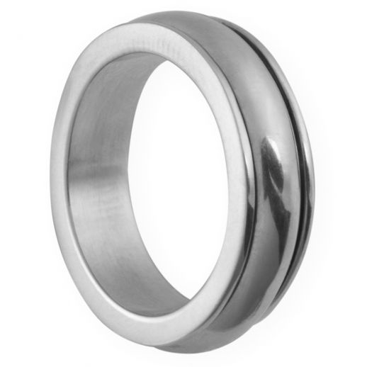 Оловянное кольцо на свадьбу