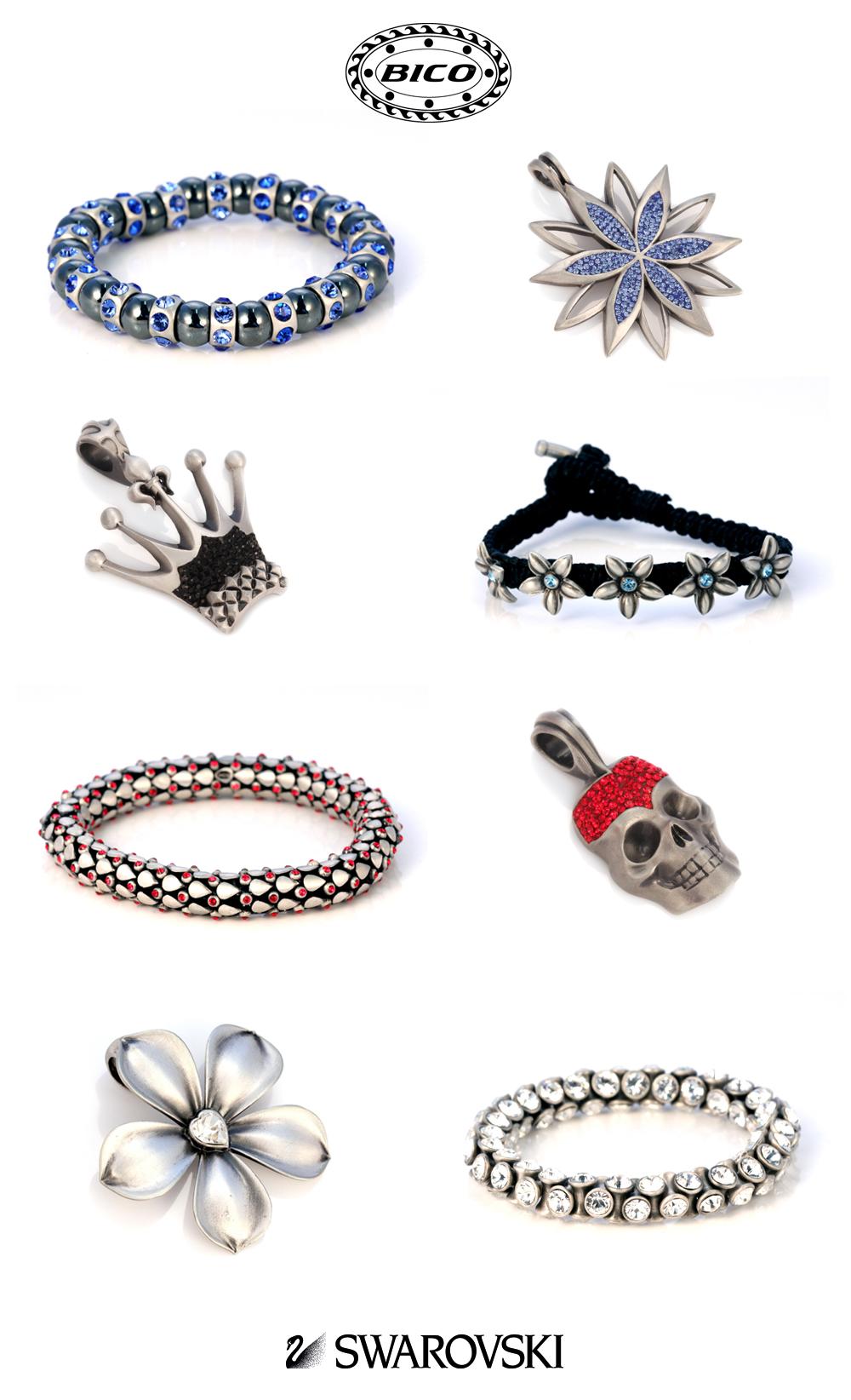 браслеты swarovski, подвески swarovski, украшения сваровски, сваровски логотип, bico australia