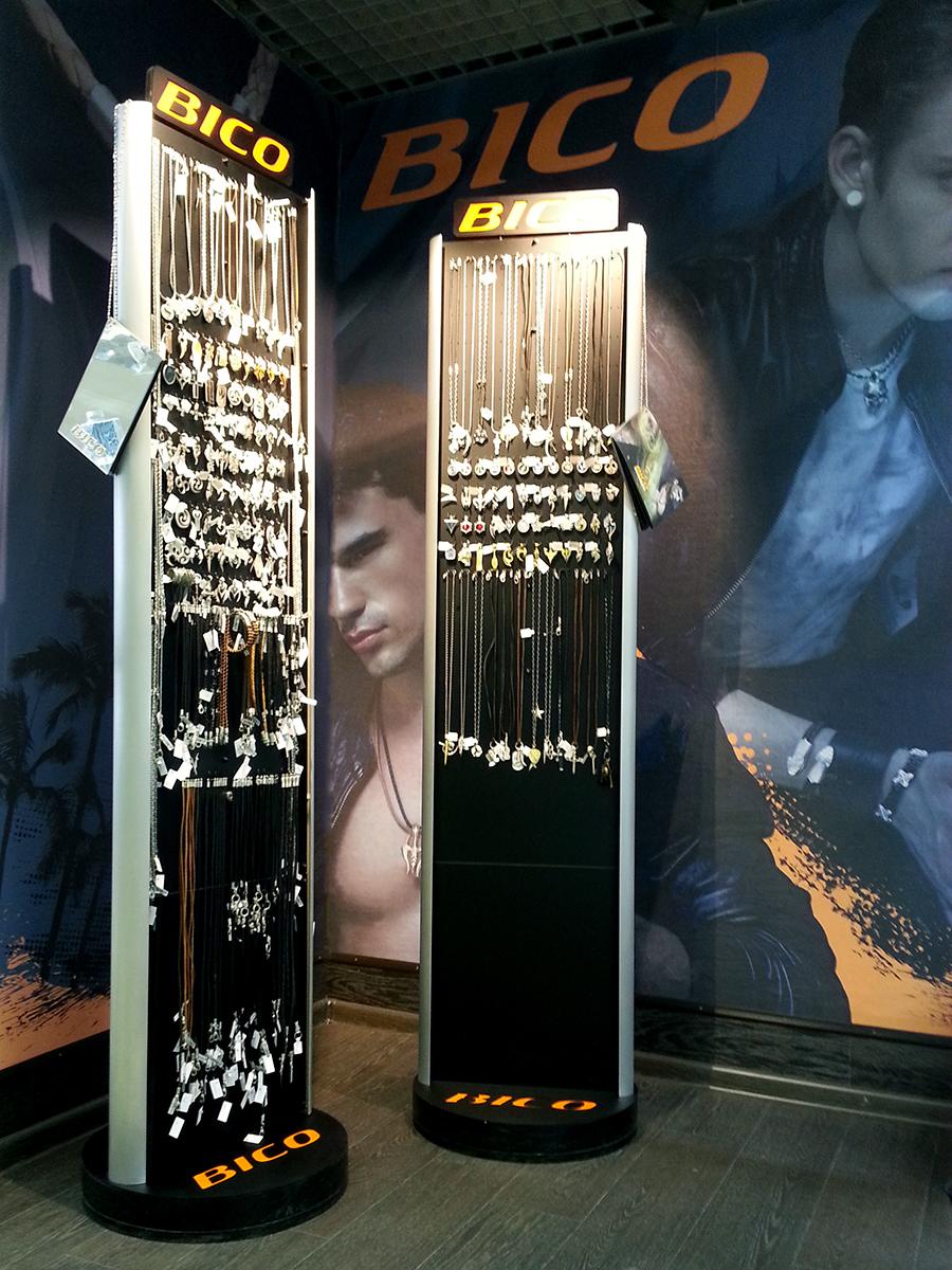 bico australia, стенды bico, дисплеи для украшений, оборудование для бижутерии